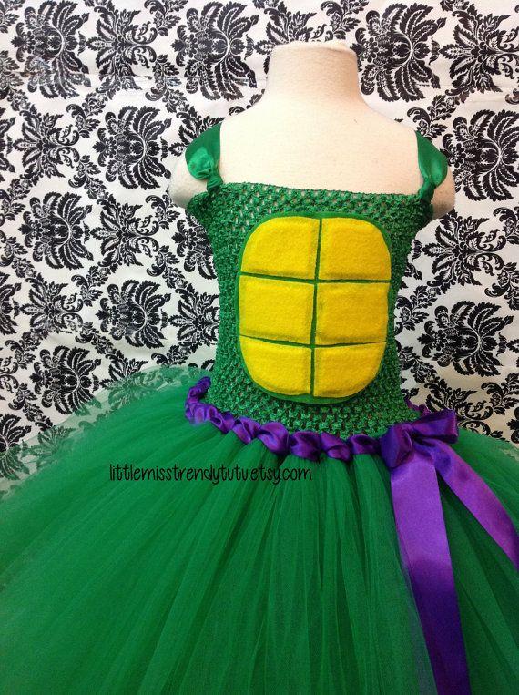 Ninja Turtle Tutu Dress TMNT Tutu Dress Ninja Turtle Tutu