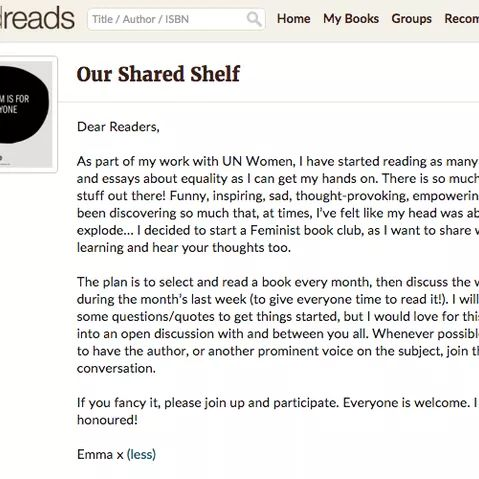 Here's The Book Emma Watson Wants You To Read Next
