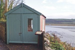The Boat House, Carmarthenshire, Wales, where Dylan Thomas wrote