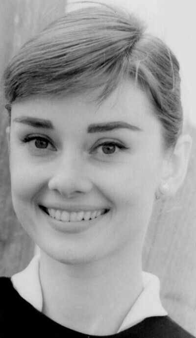 Audrey Hepburn........YOUNG AND LOVELY -- HAIR MUCH LIGHTER............ccp