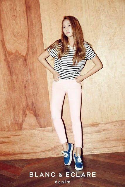 Jessica Jung Models For Her Fashion Brand BLANC & ECLARE Denim | Koogle TV