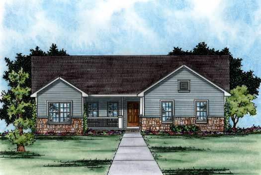 Traditional style house plan 1550 to 1650 square ft for Conventional house style