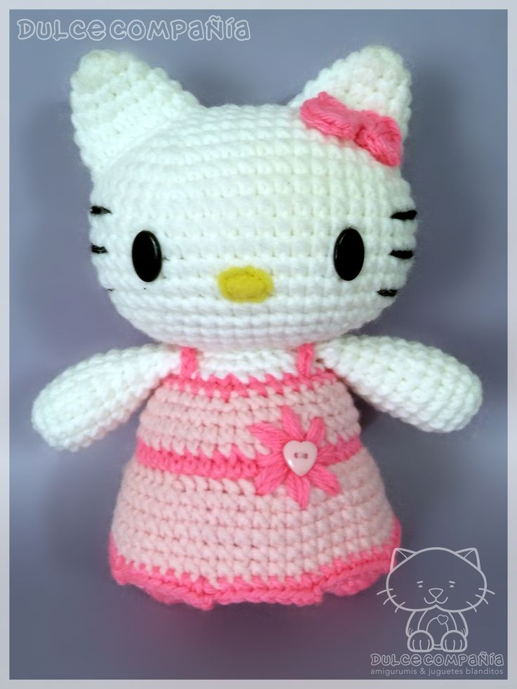 #HelloKitty #Kitty #doll #muñeca  #amigurumi #crochet #ganchillo #crochetaddict #instacraft #craftymom #handmade #hechoamano #madewithlove #hechoconamor