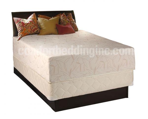 Comfort Bedding Visco Touch 12 Inch Tight Top Medium Plush Single Sided Queen Mattress Mattress Full Mattress Queen Mattress