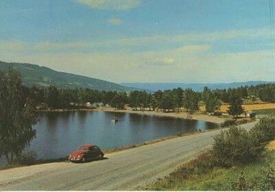 Eidsand Camping, Gran på Hadeland 1970-tallet