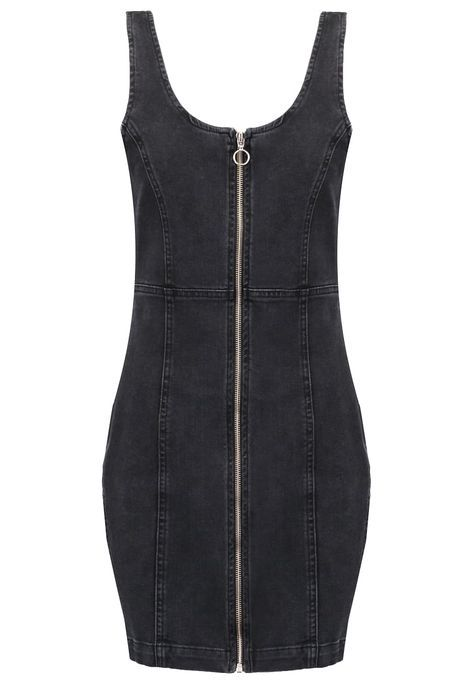 Missguided Denim dress - black for £28.00 (22/07/16) with free delivery at Zalando