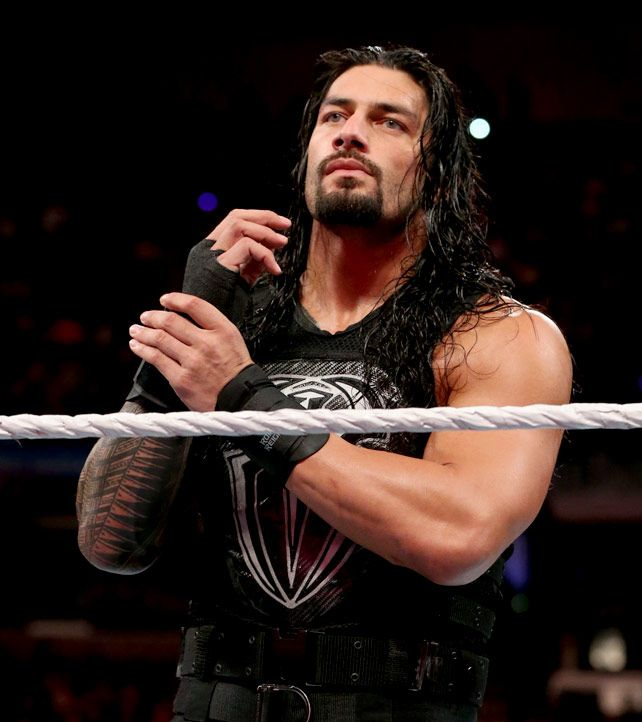 Roman Reigns Monday Night Raw 4/20/15