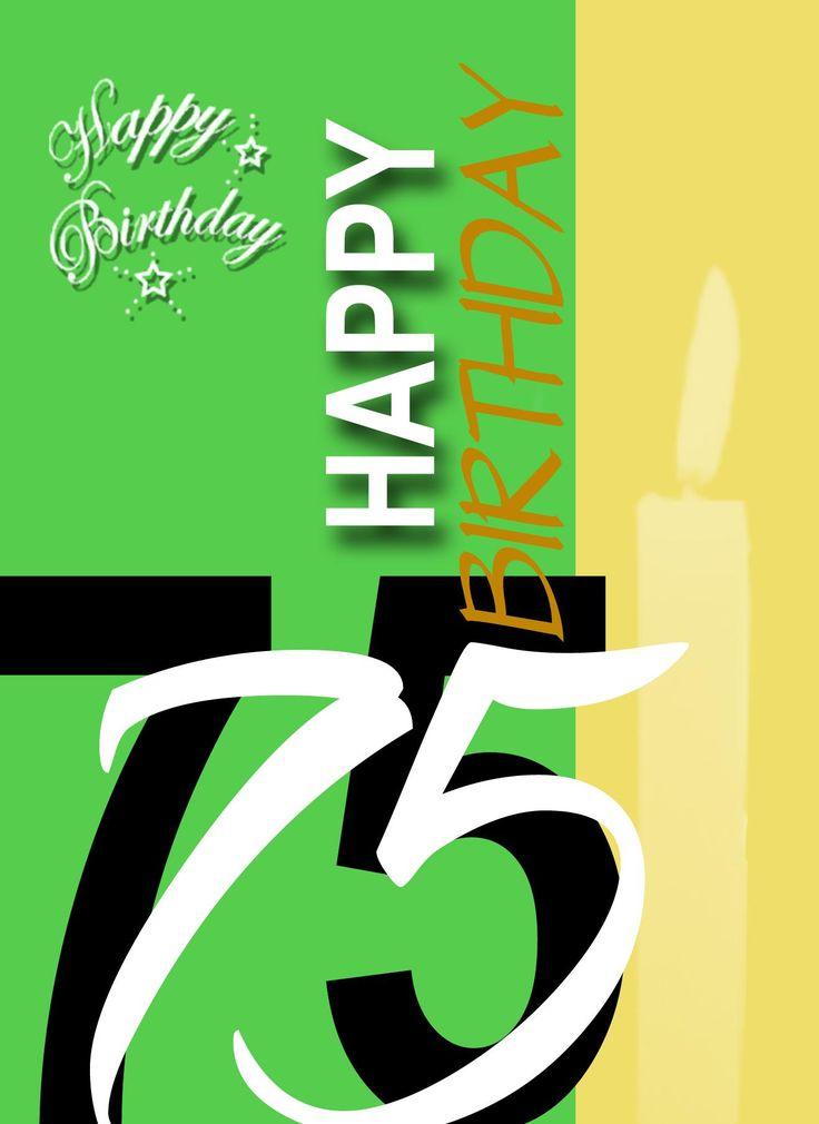 Einladung Zum 75 Geburtstag Frau