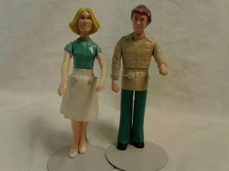 Doll house Dolls Mother & Dad Fisher Price 1978 Orig. Estate VGC   eBay