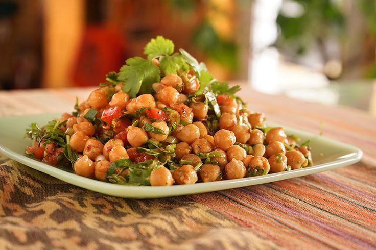 Salade de pois chiches à la mexicaine - Épices de CruÉpices de Cru