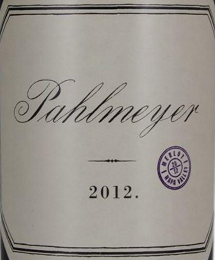 2012 Pahlmeyer Merlot