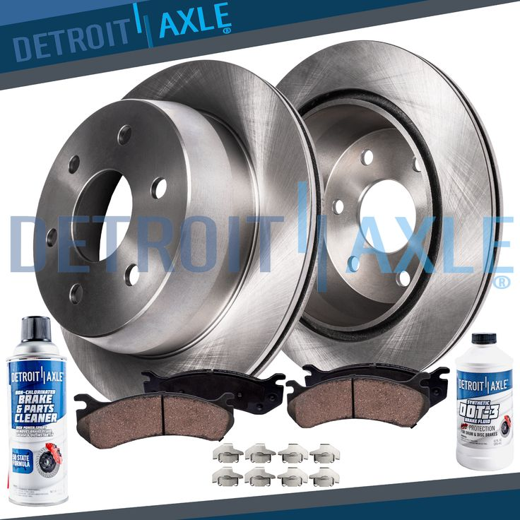 Front Brakes Rotors + Ceramic Pads For 19961999 2000 2001