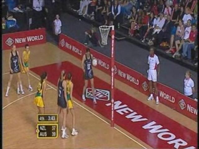 Catch the Von Bertouch sisters playing side by side, and two misses at goal by Irene Van Dyk at the 2007 World Netball Championship Final (Australia v New Zealand). #classicmatches