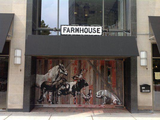 Farmhouse.   A newish restaurant in Evanston. Downtown on Church Street.