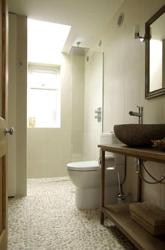 Les 25 meilleures id es de la cat gorie carrelage galet - Carrelage antiderapant salle de bain leroy merlin ...