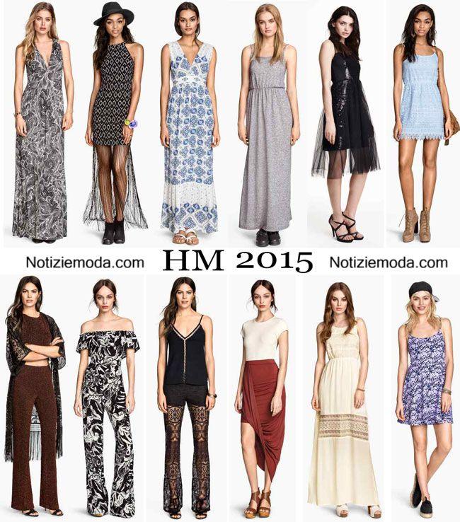 Abiti HM primavera estate 2015 moda donna