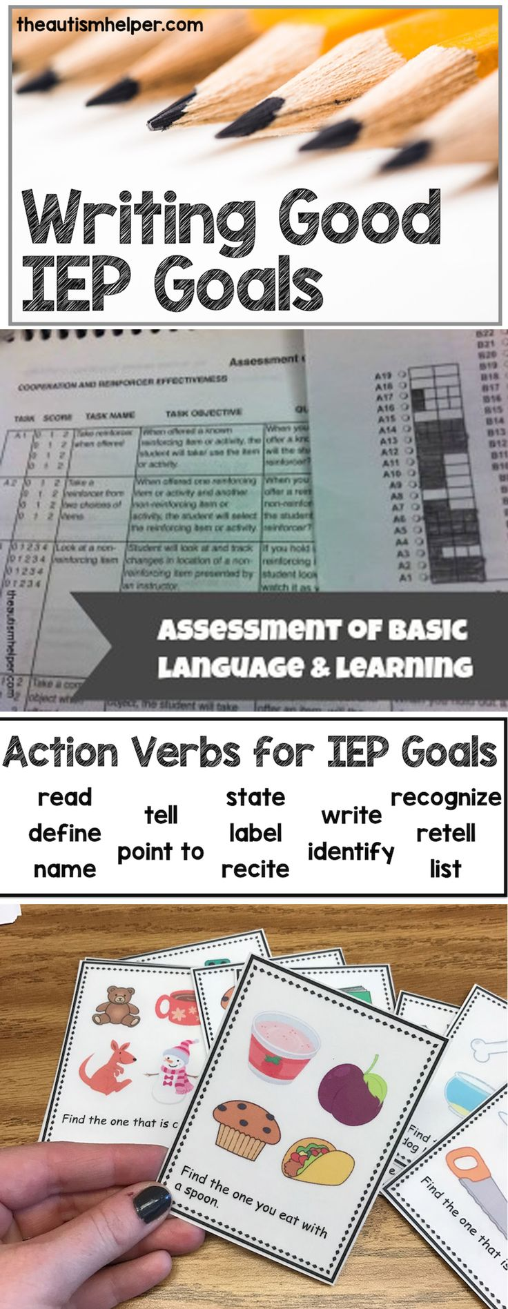 Get back to the basics of good ole' IEP goals to enhance your teaching today!! From theautismhelper.com #theautismhelper