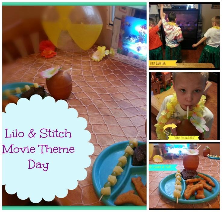 Faith, Grace & motherhood: Lilo and Stitch movie theme day