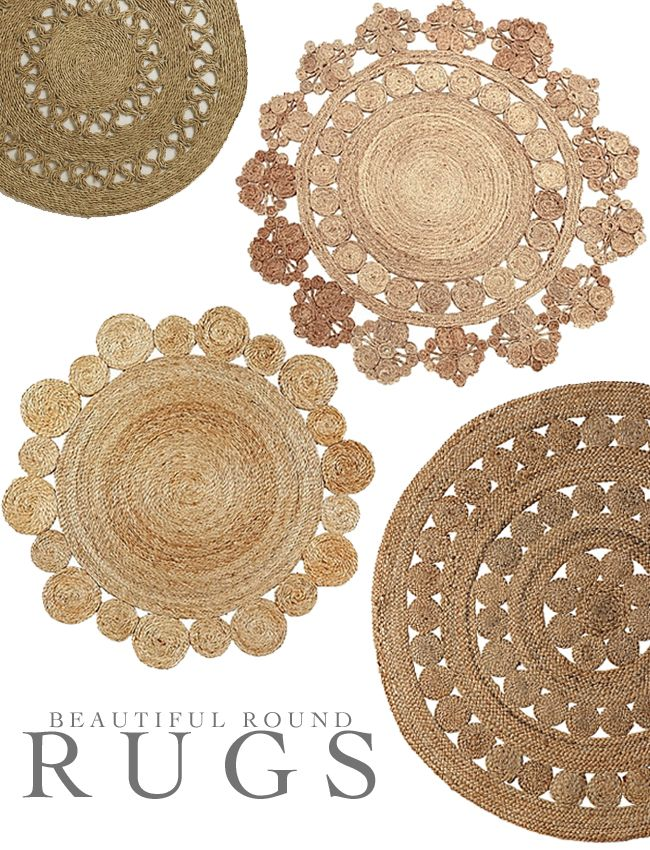 Round Rugs, Rugs On Carpet, Round