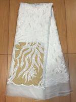Мода французский чистая ткань последние образцы для свадебных африканских женщин платье сухой кружева со стразами