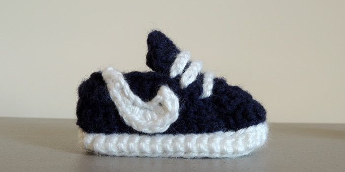 Baby Sneakers Crochet Pattern *