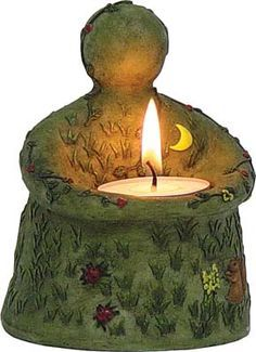 Earth Mother Altar Candle.