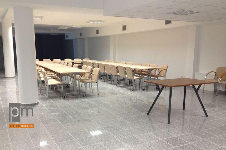 OCEO sala mobilne składane stoły i krzesła Barcelona http://www.projektmebel.pl/oferta/stoly-konferencyjne