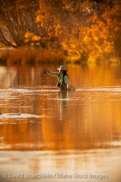 Fly-fishing in Idaho | Fall Colors in Idaho
