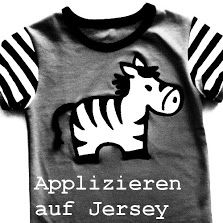 """Tutorial """"Applizieren auf Jersey"""" - by aennie"""