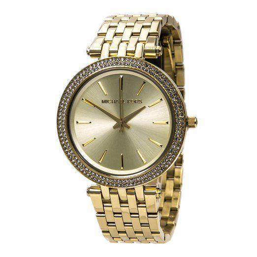 Michael Kors Women's MK3191 Darci Analog Display Analog Quartz Gold Watch