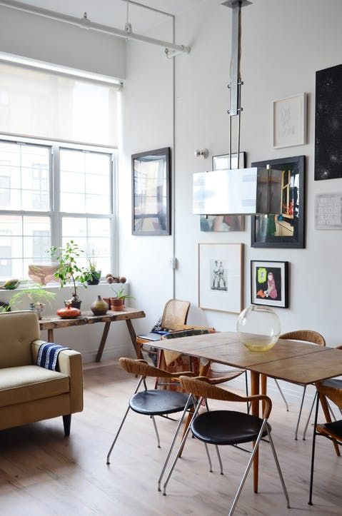 New York Home Tour A Raw Eclectic Brooklyn Loft Apartment Therapy