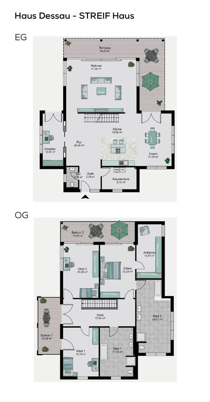die besten 25 bauhausstil haus ideen auf pinterest baustile moderne h user und fertigh user. Black Bedroom Furniture Sets. Home Design Ideas