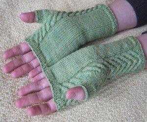 Staghorn Fingerless Gloves