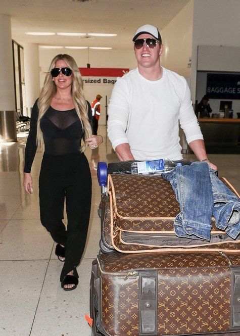 Reality TV Stars out and about: Kim Zolciak and Kroy Biermann at LAX, Danielle Staub with her fiance Marty, Yolanda Hadid out and about and more Photos!