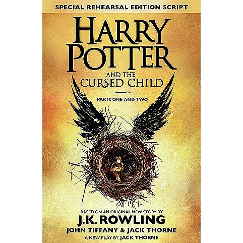 Harry Potter and the Cursed Child, by JK Rowling - October 2016 - hosted by