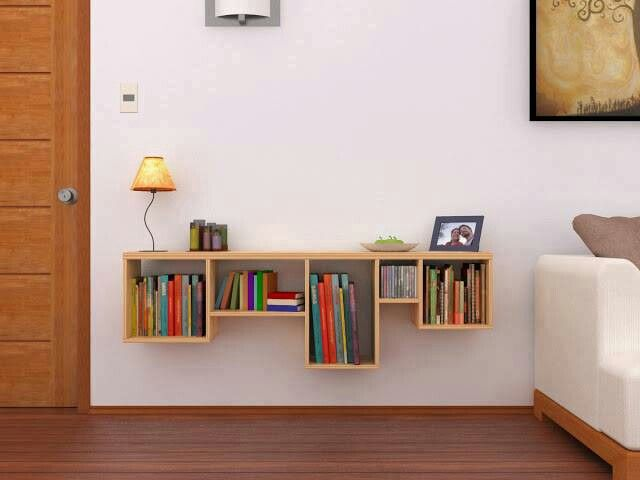 Clever book shelf