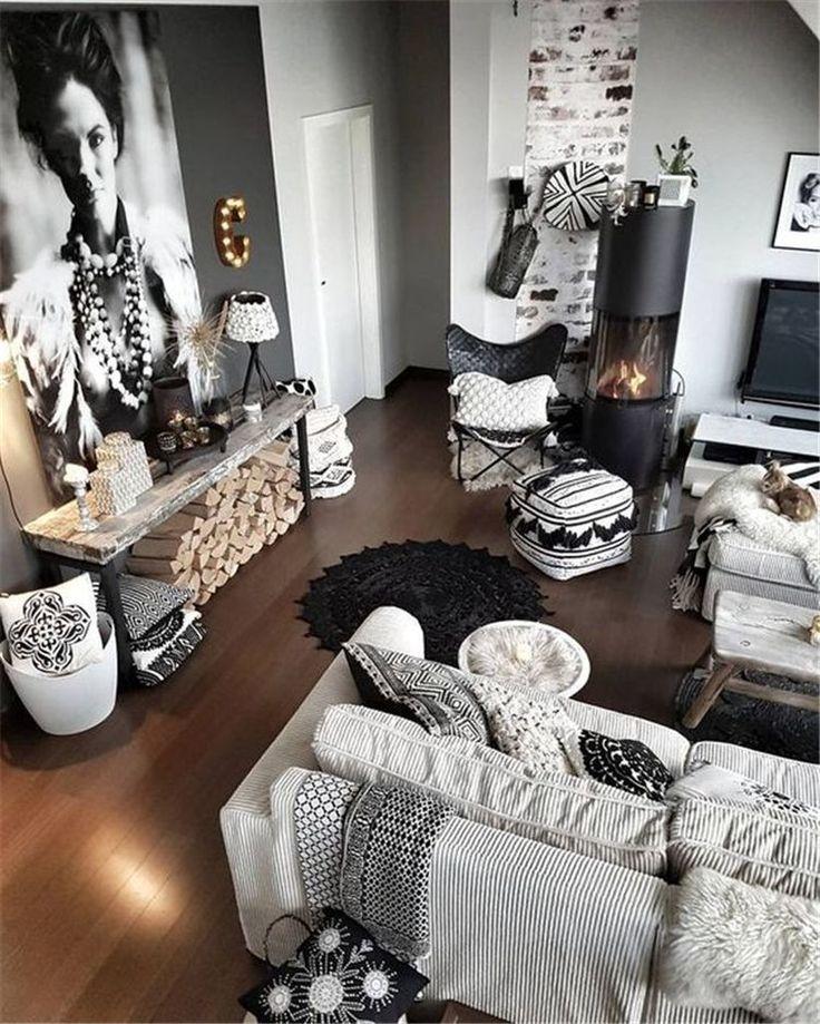 35 Cozy Rustic Living Room Design Ideas