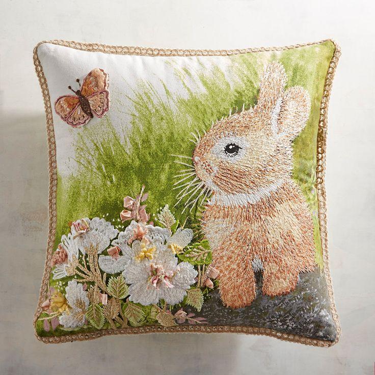 Greenhouse Bunny Pillow 200 best Pillows u003e