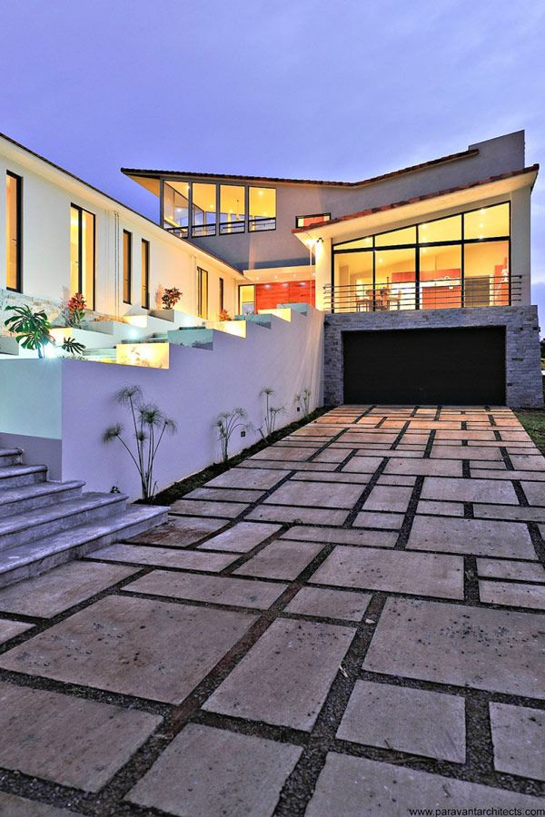 Sustainable Modern Home in Costa RicoFloors Pattern, Areopagus Resident, Dreams Home, Paravent Architects, Costa Rica, Architecture, Tile Pattern, Modern House, Design