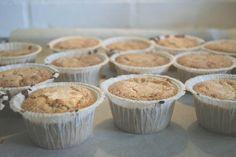 Makronmuffins (Recipe in Danish)