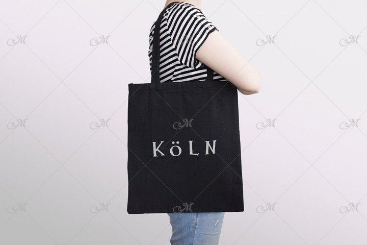 Download New Link Bag Mockup Design Mockup Free Black Tote Bag