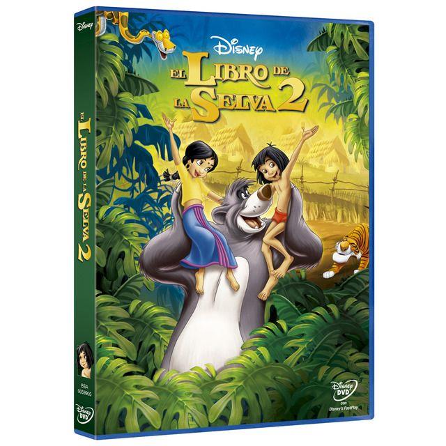 Walt Disney Pictures El Libro De La Selva 2 Dvd En 2020 El