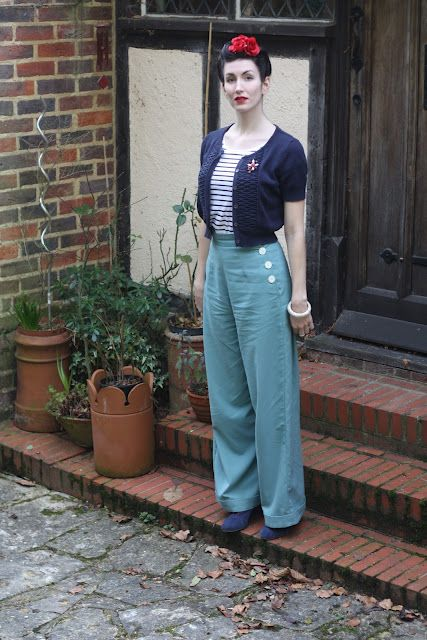 Dressing down, vintage style