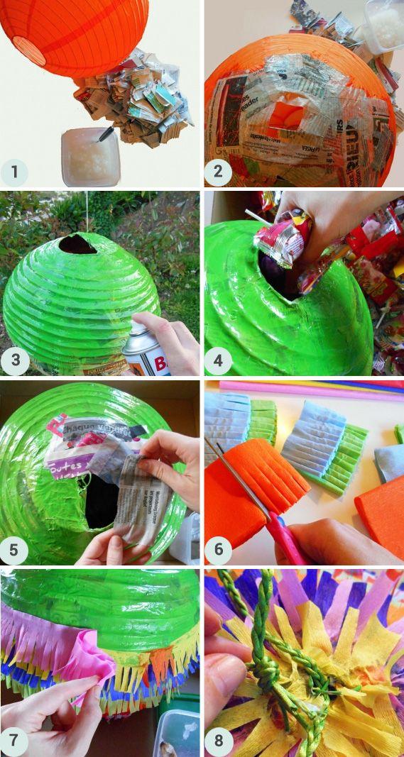 DIY : Une piñata d'anniversaire