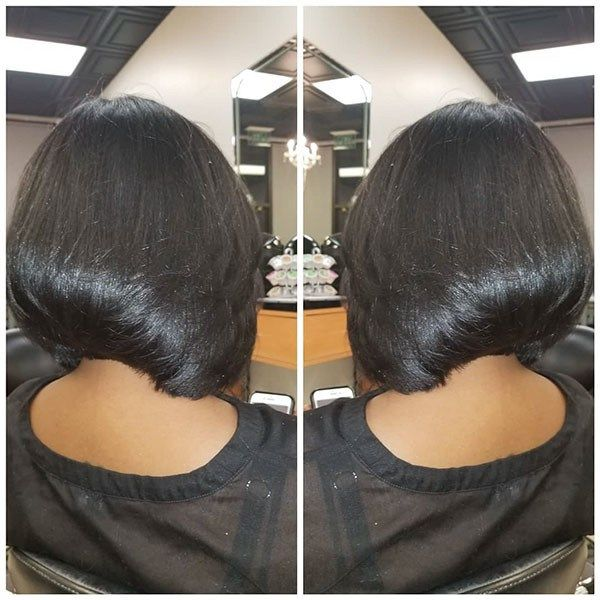 Thick Straight Hair Best Bob Hairstyles For Black Women Pictures In 2019 Short Bob Hairstyles Bob Hairstyles Black Bob Hairstyles
