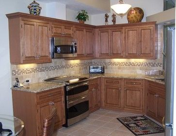 Top Kitchen Cabinets  X  With Finished Backs