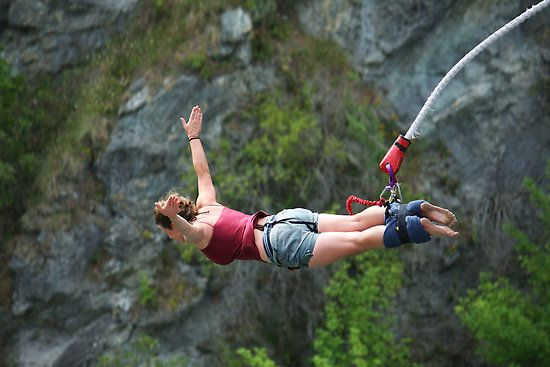 Bungee Jumping   The perfect adrenaline rush!!!