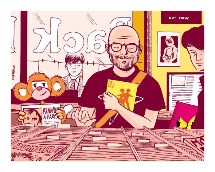 """Sergio Varbella Sergio Varbella è grafico, illustratore, torinese, ex redattore di Maltese Narrazioni e autore del web comic """"Il quarantenne immaginario""""."""