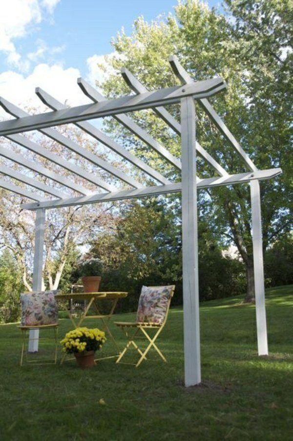 25 best ideas about pergola bauen on pinterest. Black Bedroom Furniture Sets. Home Design Ideas