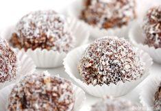 Čokoládovo - višňové guľky